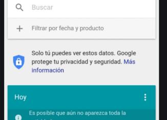 Borrar el historial de Google desde nuestro teléfono móvil