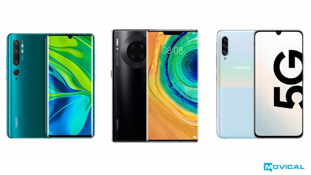 Xiaomi Samsung o Huawei
