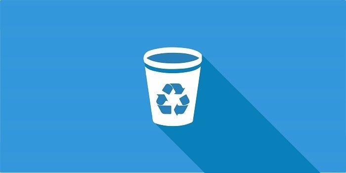 papalera de reciclaje en Android
